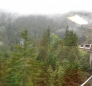 Desværre var vejret og udsigten ikke særlig god/Unfortunately the weather and the view were poor
