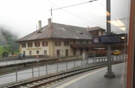 Albula-banens museum i Bergün/Brauvogn/The museum of the Albula railway at Brauvogn