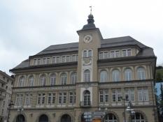 St. Moritzʹs rådhus/The St. Moritz town hall