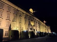 Innsbrucks hofburg var de tyrolske hertugers residens/Hofburg, the residence of the Tyrolian dukes
