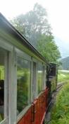 Lokomotivet overvandt over 400 højdemeter for os/The engine pushed us more than 400 m of elevation