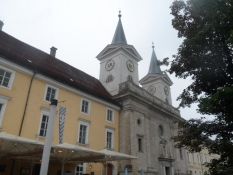 Benediktinerklosteret med bryghus i Tegernsee/The benedictine abbey with a brewery at Tegernsee