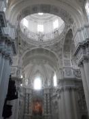 Interiør fra Theatinerkirken St. Kajetan/Interior of the Theatiner church St. Kajetan