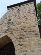 Ét af bymurens tårne står også endnu/One of the towers of the wall also still stands