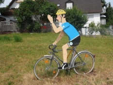 Franken er en cykelregion/Franconia is a good region for biking