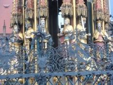 Detalje fra ʹDen Smukke Brøndʹ Nürnberg/A detail from ʹThe Beautiful Wellʹ in Nuremberg
