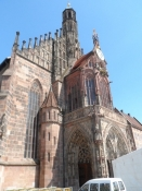 Den gotiske Frauenkirche/The gothic Our Ladyʹs Church