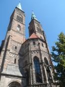 Den evangeliske Sebalduskirke fra 13. årh./The protestant Saint Sebald church, 13th century