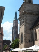Alt er smukt genopbygget efter krigens ødelæggelser/The old city is rebuilt after the destruction