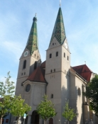 Kirken i Beilngries/The church of Beilngries