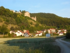 Aftenstemning i Altmühl-dalen/Evening atmosphere in the valley of the Altmuehl