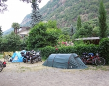 Bozen, Camping Moosbauer