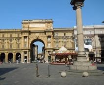 Florenz, Piazza della Repubblica