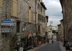 Assisi, Piaggia San Pietro