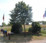 Ved den belgisk-franske grænse/At the border between Belgium and France