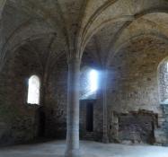 Novicernes (de unge munkes) opholdsrum/The novicesʹ (the young monksʹ) hall