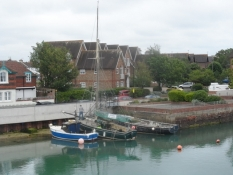 Fra den lille bådehavn i Littlehampton/The cosy little boat harbour of Littlehampton