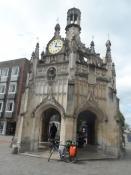 Klokketårnet i den skønne lille by Chichester/The bell tower in the lovely little town of Chichester