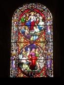 Smukke blyindfattede ruder/Beautiful stained glass windows