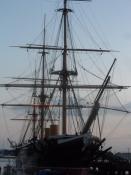 Byen har en stolt fortid og nutid som flådebase/The city is a proud naval base