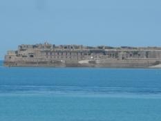 Befæstet ø ud for havnen i Cherbourg/Fortified island outside Cherbourg port