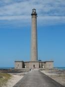 Jeg var oppe i det 75 m høje fyrtårn ved Gatteville/I climbed the 75 m of the Gatteville lighthouse
