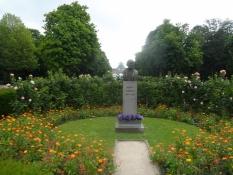 Park til ære for én af EUʹs fædre, Robert Schuman/A park in honour of an EU father, Robert Schuman