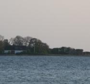 Slotø i Nakskov fjord/The island of Slotø in Nakskov fiord