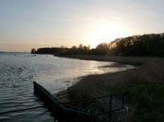 Aftenstemning på Lolland/Evening atmosphere on Lolland