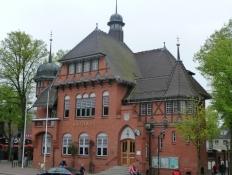 Det maleriske rådhus i Burg på Femern/The picturesque town hall in Burg on Fehmarn