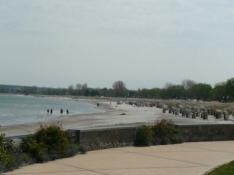 Stranden ved Timmendorf/The beach at Timmendorf