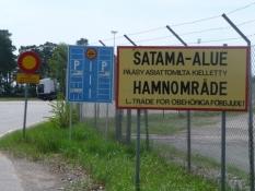 Hertil og ikke længere i Hankos yderhavn/No go any further at Hanko outer port