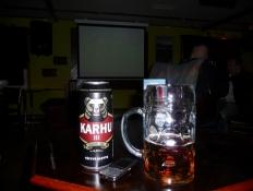 1-0 til Karhu (bjørnen)/1-0 to Karhu (the Bear)