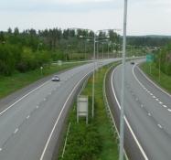 Rigsvej 9 nær Tampere/State highway No 9 near Tampere