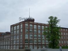 Den tidligere lokomotivfabrik Tampella/The former locomotive factory Tampella