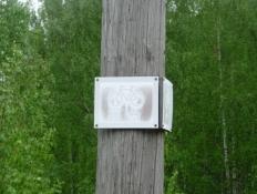 Finsk cykelruteskiltning/Finnish cycle route signposting