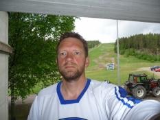 Håbløs selfie i ishockeytrøjen/Moronic selfie in my ice hockey jersey