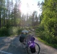 Cyklen hviler i solen/The bike is resting in the sun