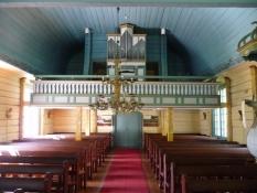 Enkelt og rustikt interiør kendetegner den/It is characterized by a simple and rural interior