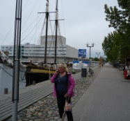 Bådehavnen foran teatret/The boat harbour in front of the theatre