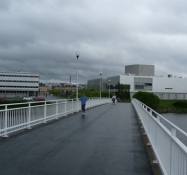 Cykelbroer ind til centrum/Bicycle bridges into the city centre