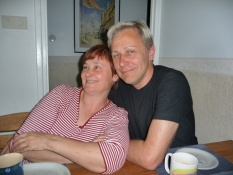 Pekka og hans kæreste Heli/Pekka with girlfriend Heli
