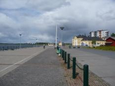 Havnepromenaden i Kemi/The harbour promenade in Kemi