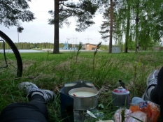 Aftensmad på vej/Supper in the making