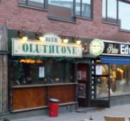 Oluthuone=Ølværtshus!/Oluthuone means beer pub!
