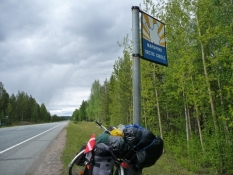 Jeg krydser polarcirklen/I am about to cross the polar circle