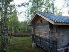 Saunaer er næsten altid bygget ved en sø/Saunas almost always have access to a lake