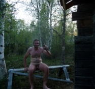 En sauna uden øl er som en brønd uden vand/A sauna without beer is like a well without water