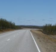 Så er jeg på vejen igen/Country road take me North