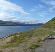 Med Smalfjorden har jeg nået Ishavet. Smalfjorden is a arm of the Arctic ocean
